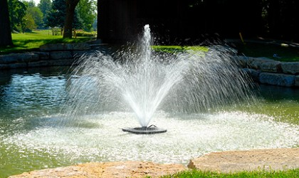 Legacy Fountain with Center Jet